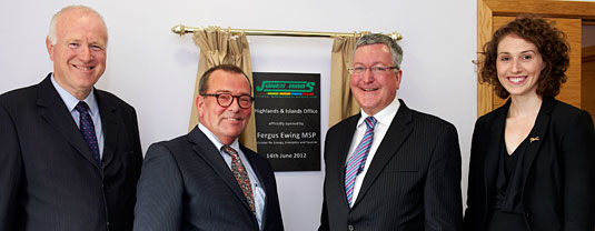 Minister launches first Jones Bros' Highlands office