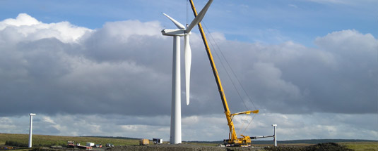 wind farm construction northwest