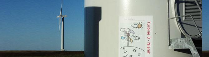 Tullo windfarm infrastructure